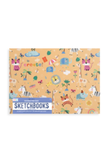 Ooly Doodle Pad Duo Sketchbooks: Safari Party - Set of 2