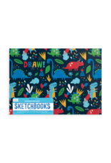 Ooly Doodle Pad Duo Sketchbooks: Dino Days - Set of 2