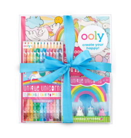 Ooly Unique Unicorn Erasable Coloring Book - Giftable Pack
