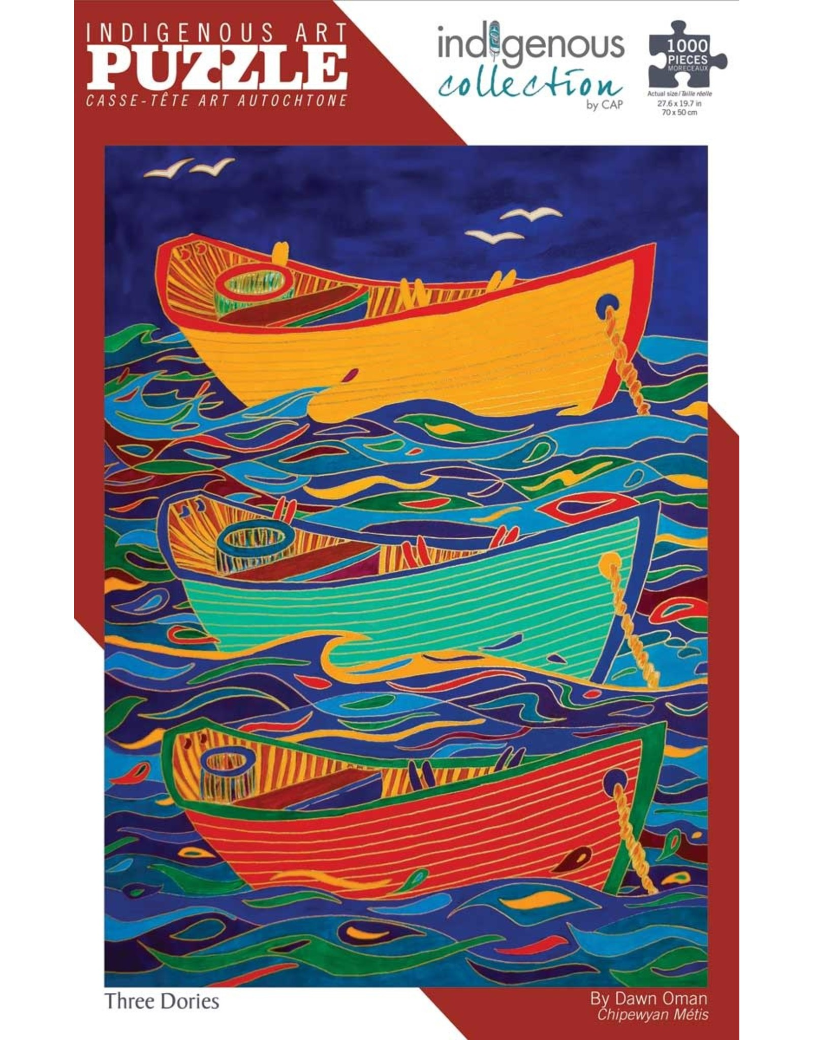 Indigenous Collection Three Dories 1000pc