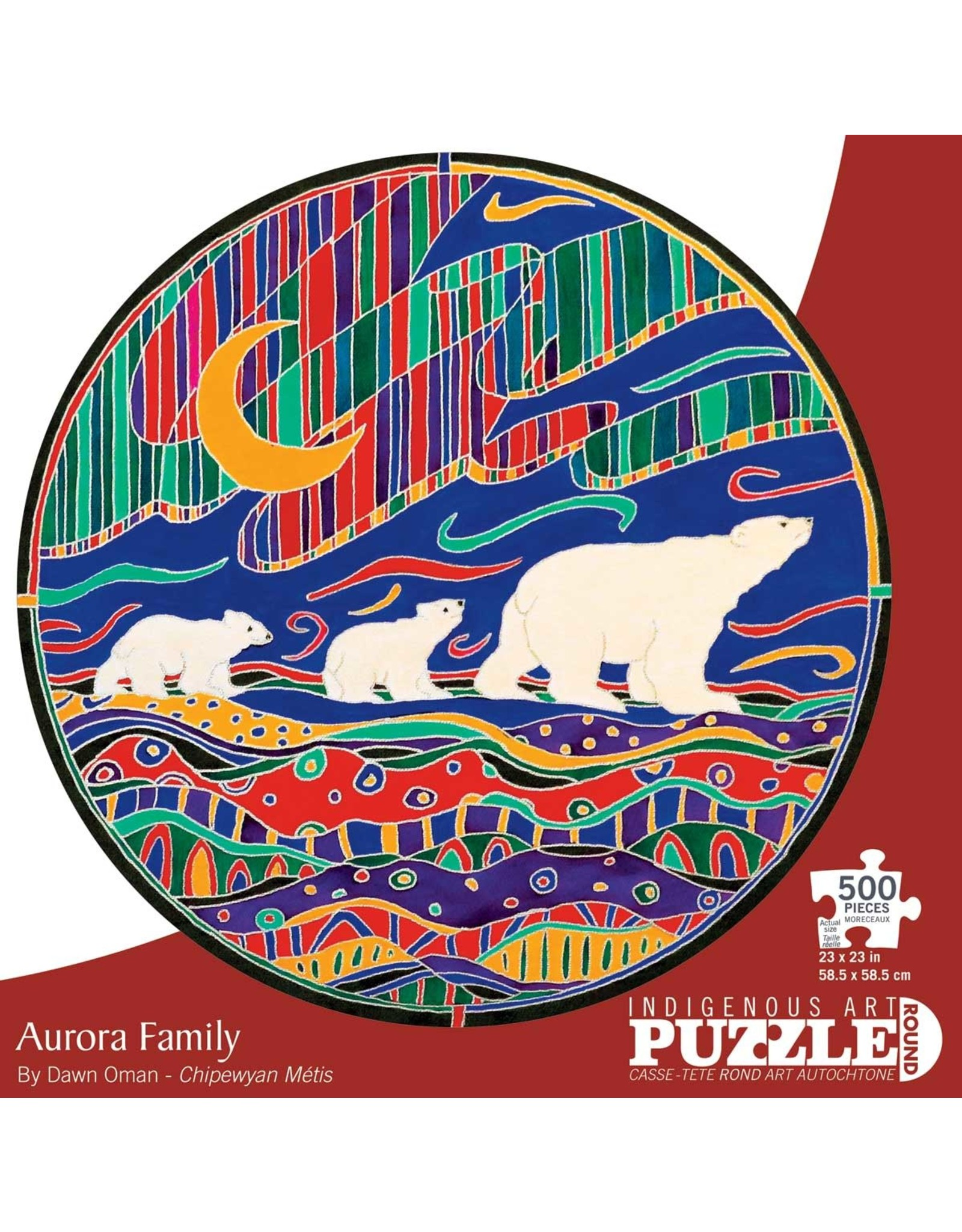 Indigenous Collection Aurora Family 500 pc