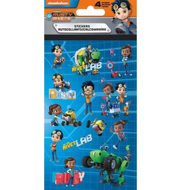 Rusty Rivets 4 Sheet Stickers