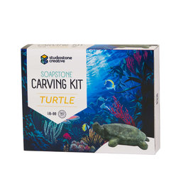 Studiostone Creative Soapstone Carving Kit - Turtle