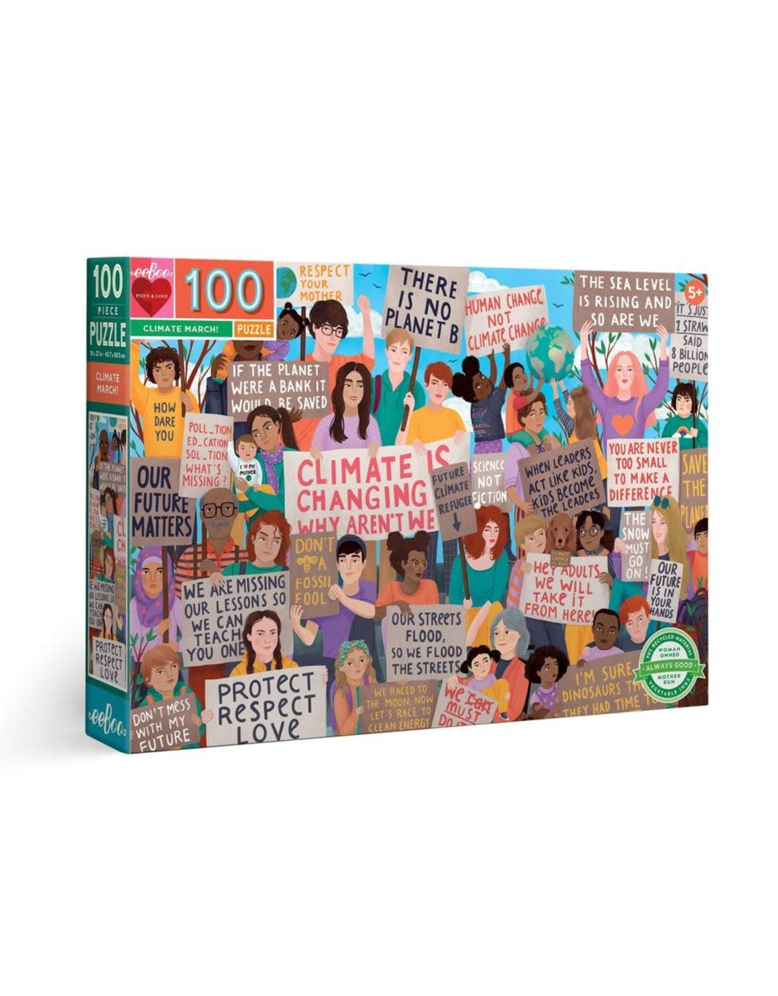 eeBoo Climate March! 100 pc