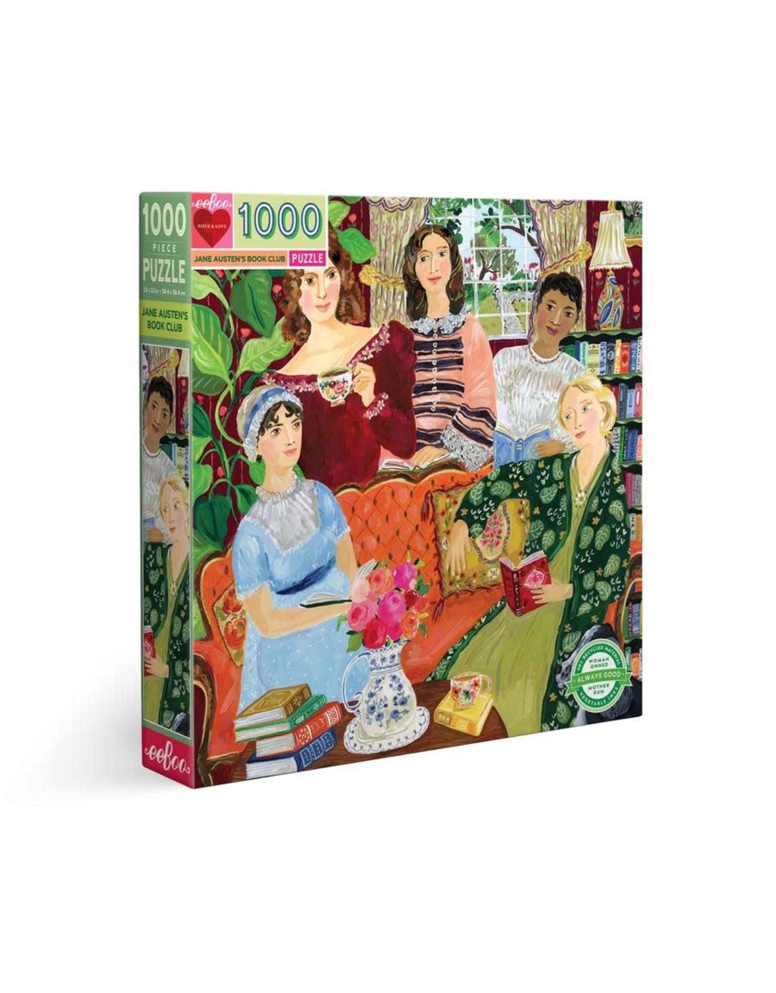 eeBoo Jane Austen's Book Club 1000pc