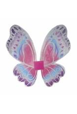 Great Pretenders Glimmerwind Wings, Hot Pink/Royal