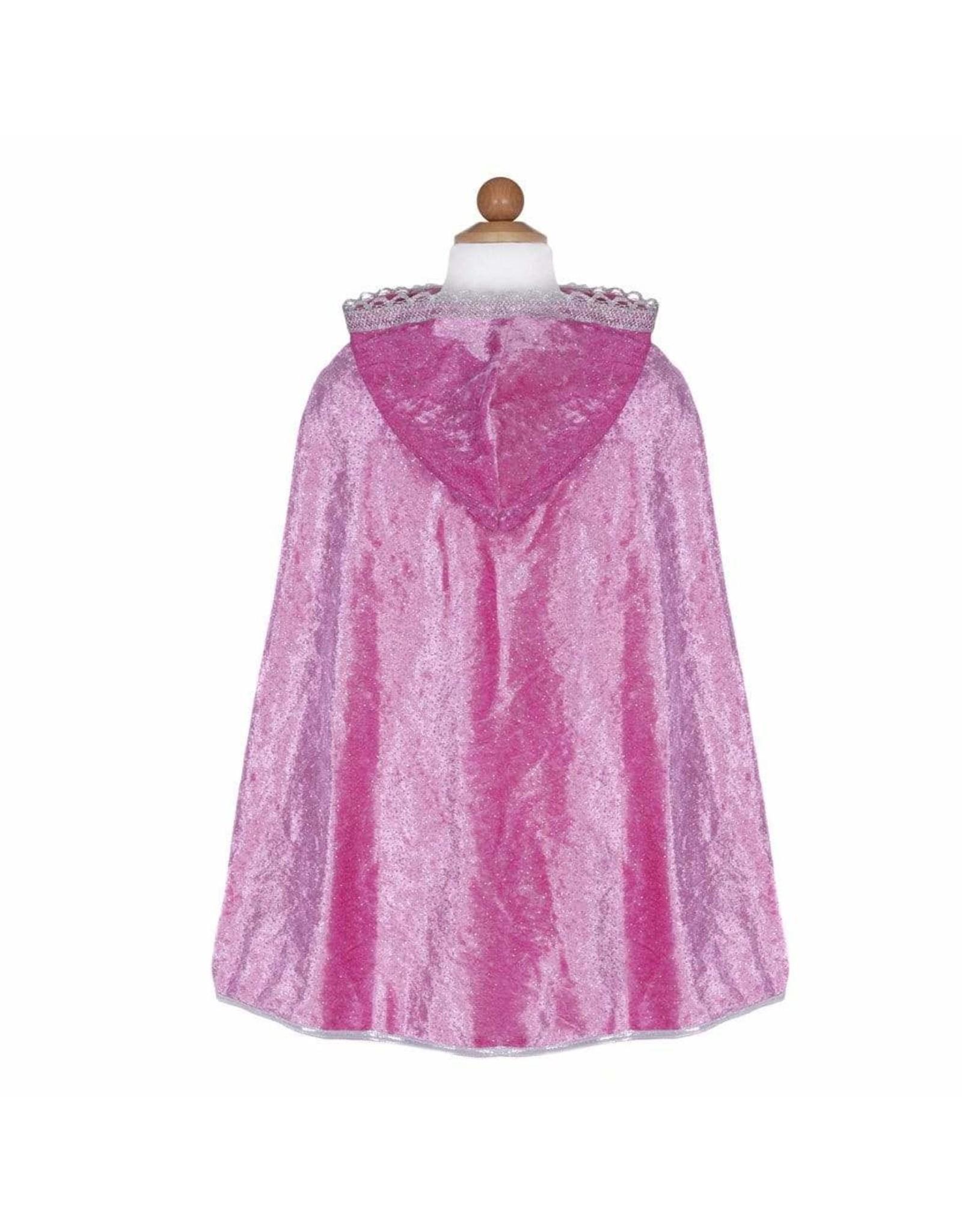 Great Pretenders Dark Pink Diamond Sparkle Cape, Size 5/6