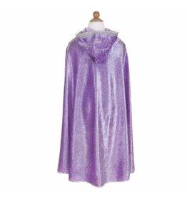 Great Pretenders Lilac Diamond Sparkle Cape, Size 5/6