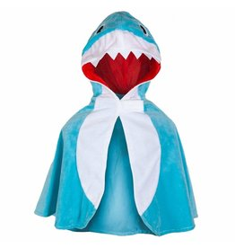 Great Pretenders Toddler Shark Cape, Size 2/3