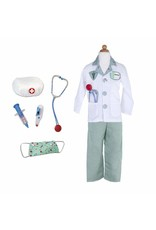 Great Pretenders Doctor Costume with Accessories, Size 5/6 - Green