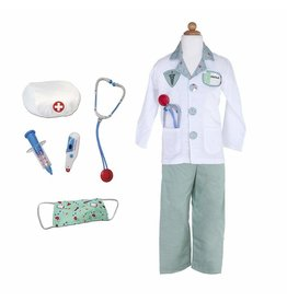 Great Pretenders Doctor Costume with Accessories, Size 5/6