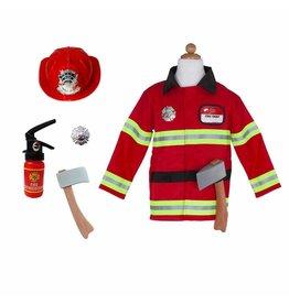 Great Pretenders Fireman Costume, Size 5/6
