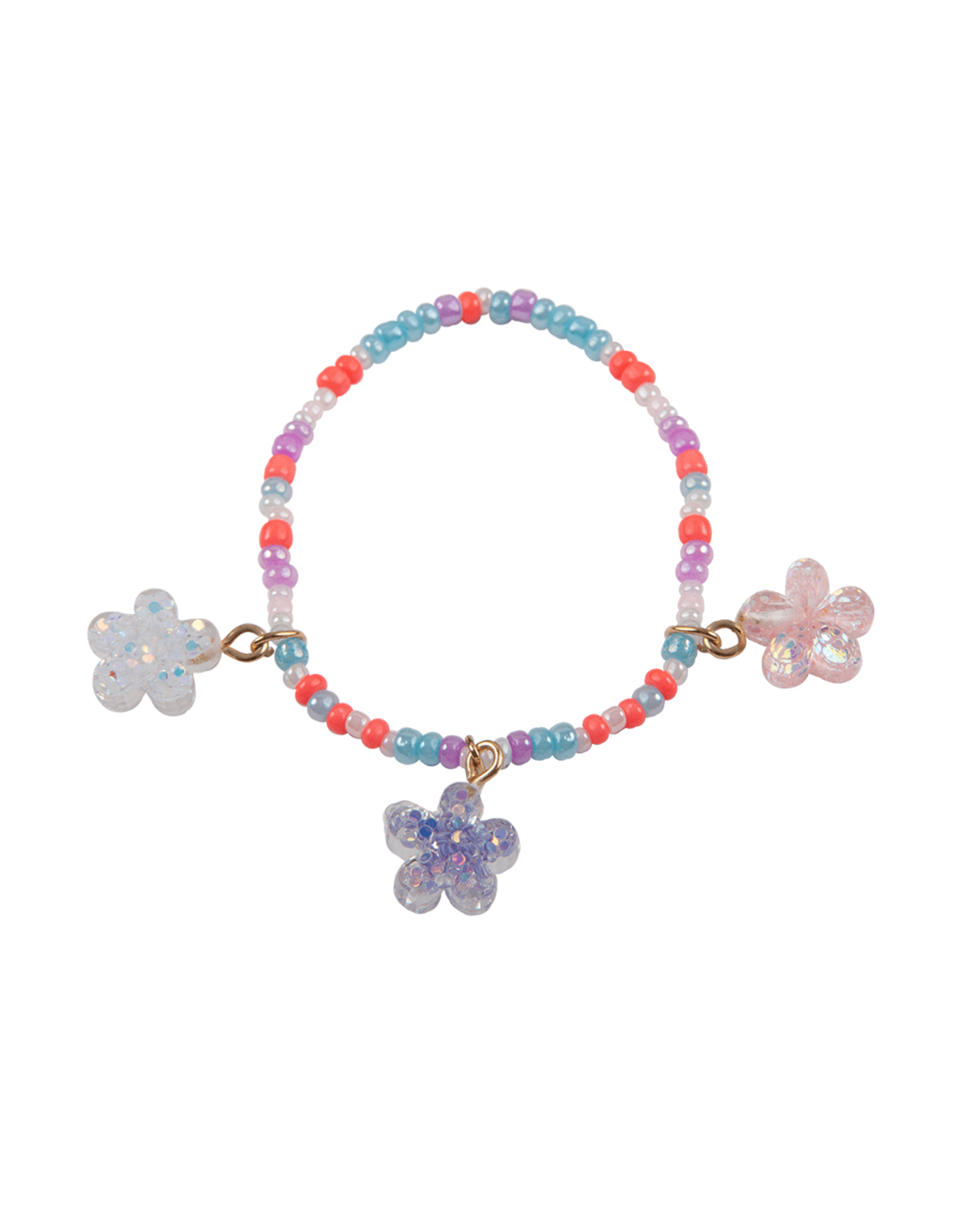 Great Pretenders Boutique Shimmer Flower Bracelet