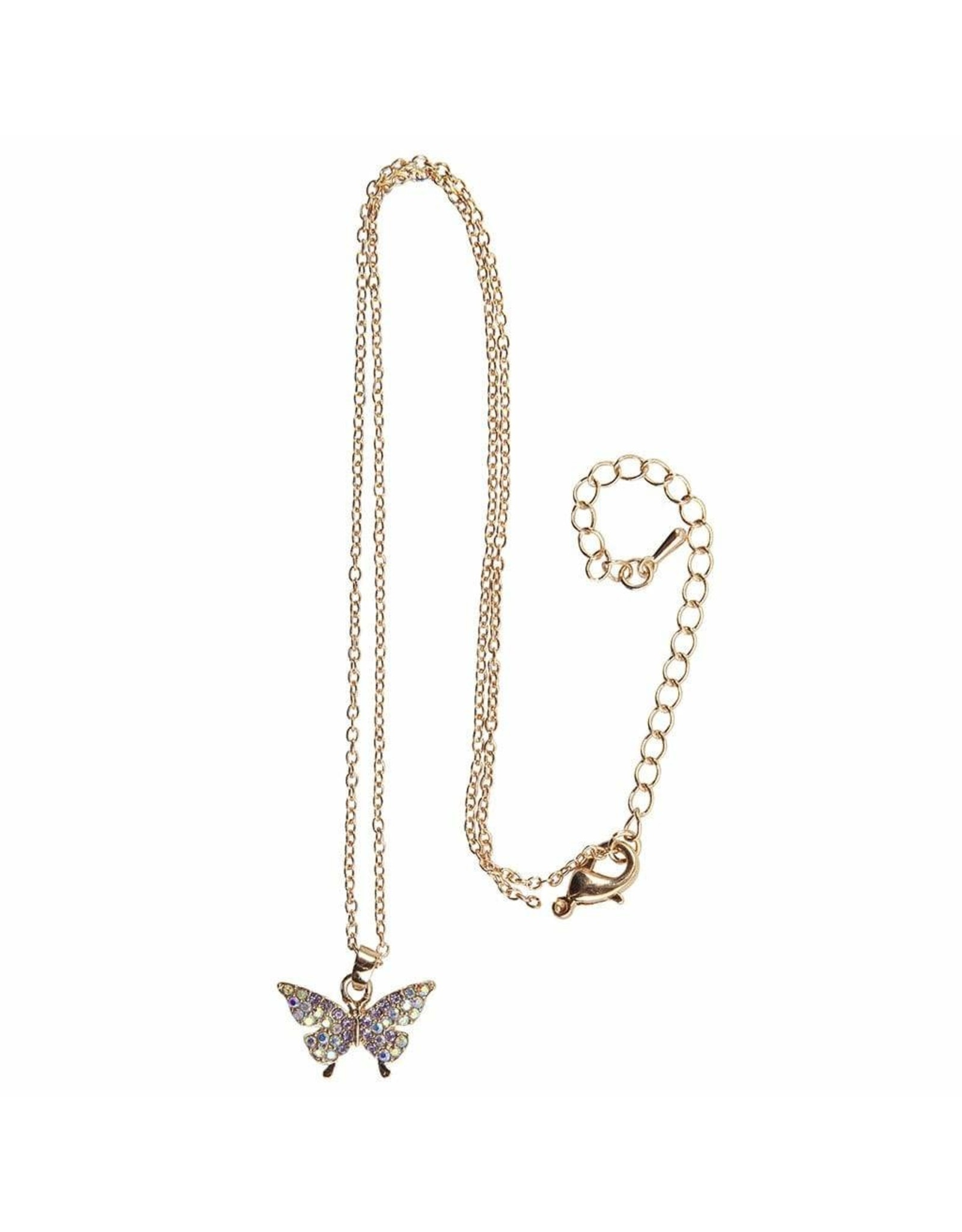 Great Pretenders Boutique Butterfly Gem Necklace