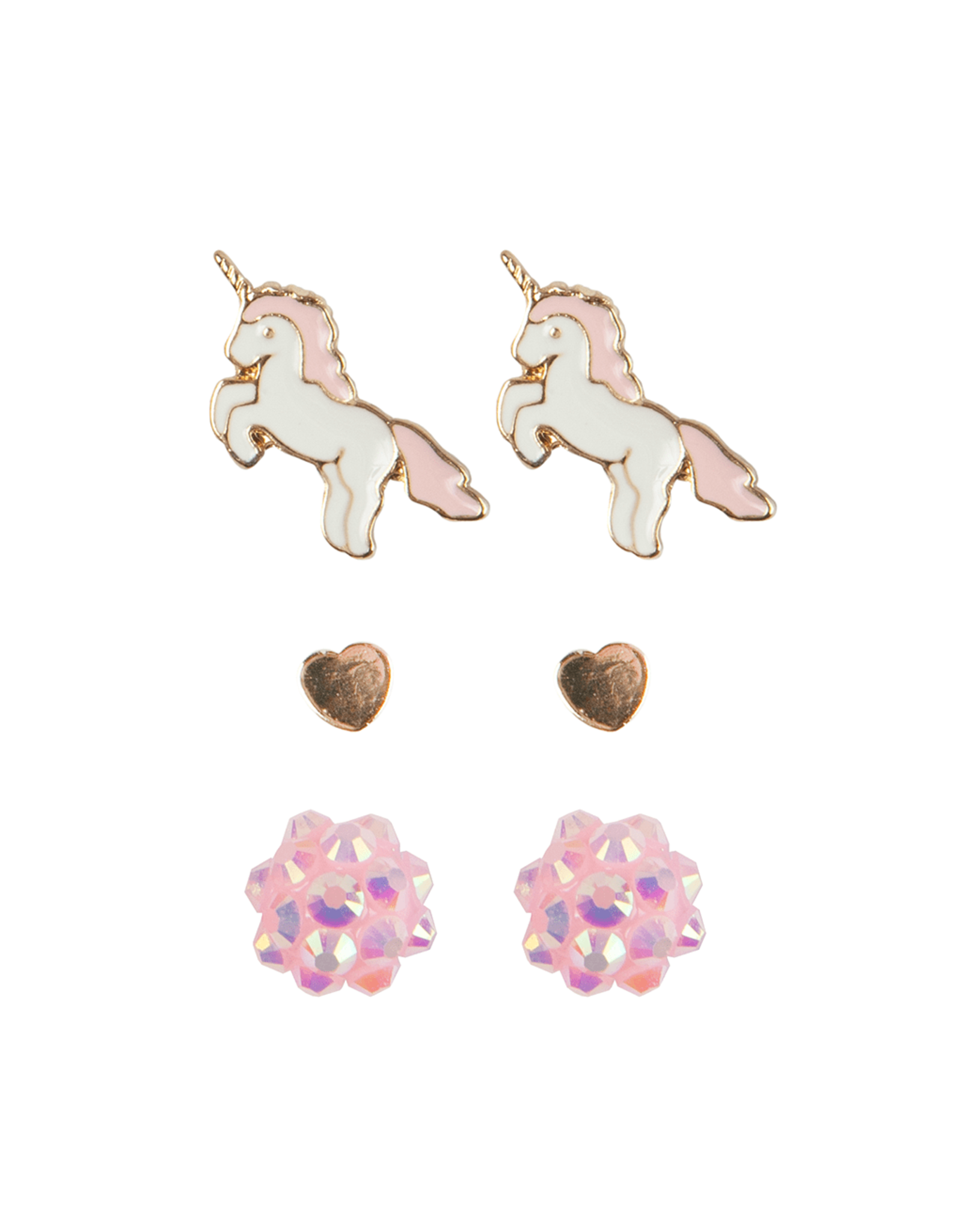 Great Pretenders Boutique Unicorn Studded Earrings