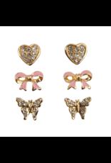 Great Pretenders Boutique Dazzle Studded Earrings