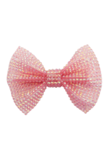 Great Pretenders Boutique Pink Gem Bow Hairclip