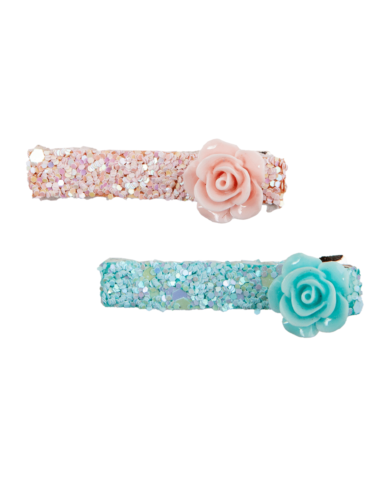 Great Pretenders Boutique Glitter Rosette Hairclips