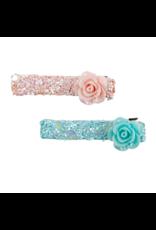 Great Pretenders Boutique Glitter Rosette Hairclips