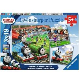 Ravensburger Thomas Watches Soccer 3X49pc