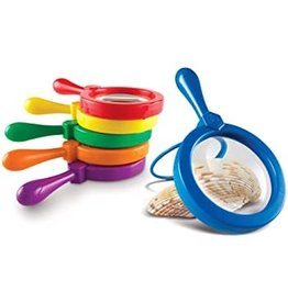 Learning Resources Primary Science Jumbo Magnifiers Asst.
