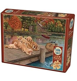 Cobble Hill Lazy Day On The Dock 275 pc