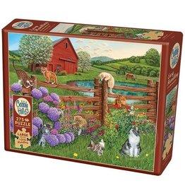 Cobble Hill Farm Cats 275 pc