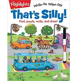 Highlights Highlights Write-On Wipe-Off That's Silly
