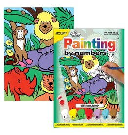 Royal & Langnickel Paint by Number: Jungle Animals