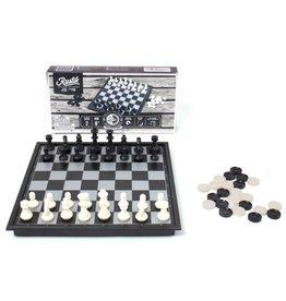 Rustik Rustik Magnetic Chess & Checkers