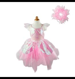 Great Pretenders Iridescent Fairy Dress w/Halo, Size 5/6