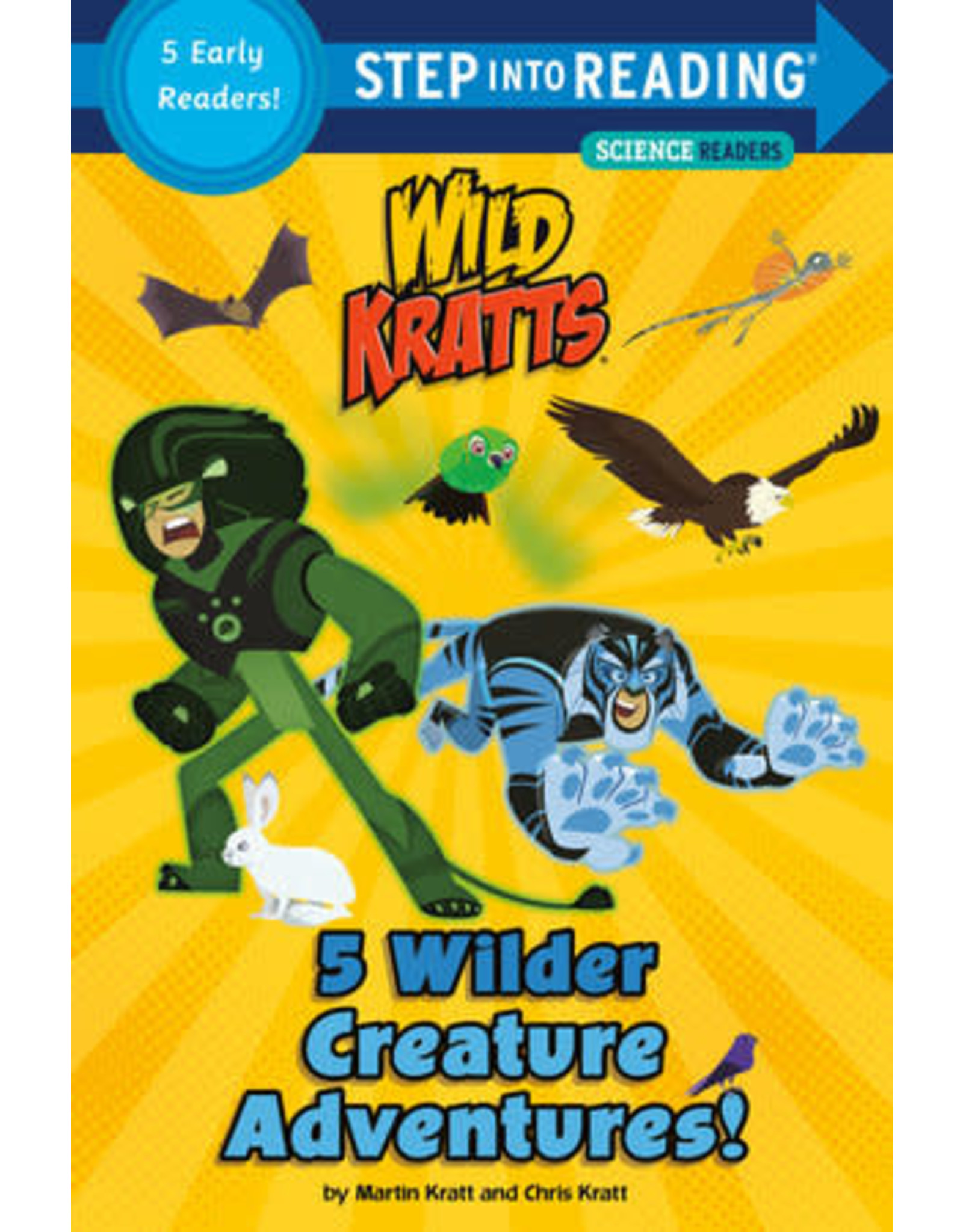 Step Into Reading Step Into Reading - 5 Wilder Creature Adventures: Wild Kratts