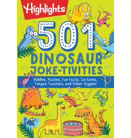 Highlights Highlights 501 Dinosaur Joke-tivities