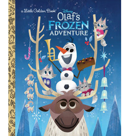 Little Golden Books Olaf's Frozen Adventure Little Golden Book
