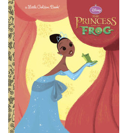 Little Golden Books The Princess and the Frog Little Golden Book