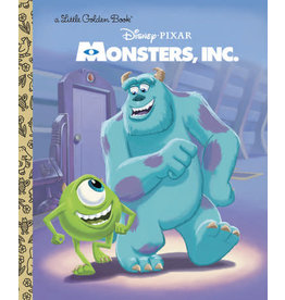 Little Golden Books Monsters, Inc. Little Golden Book