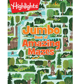 Highlights Highlights Jumbo Book of Amazing Mazes
