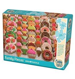 Cobble Hill Sweet Treats 350 pc Family Puzzle