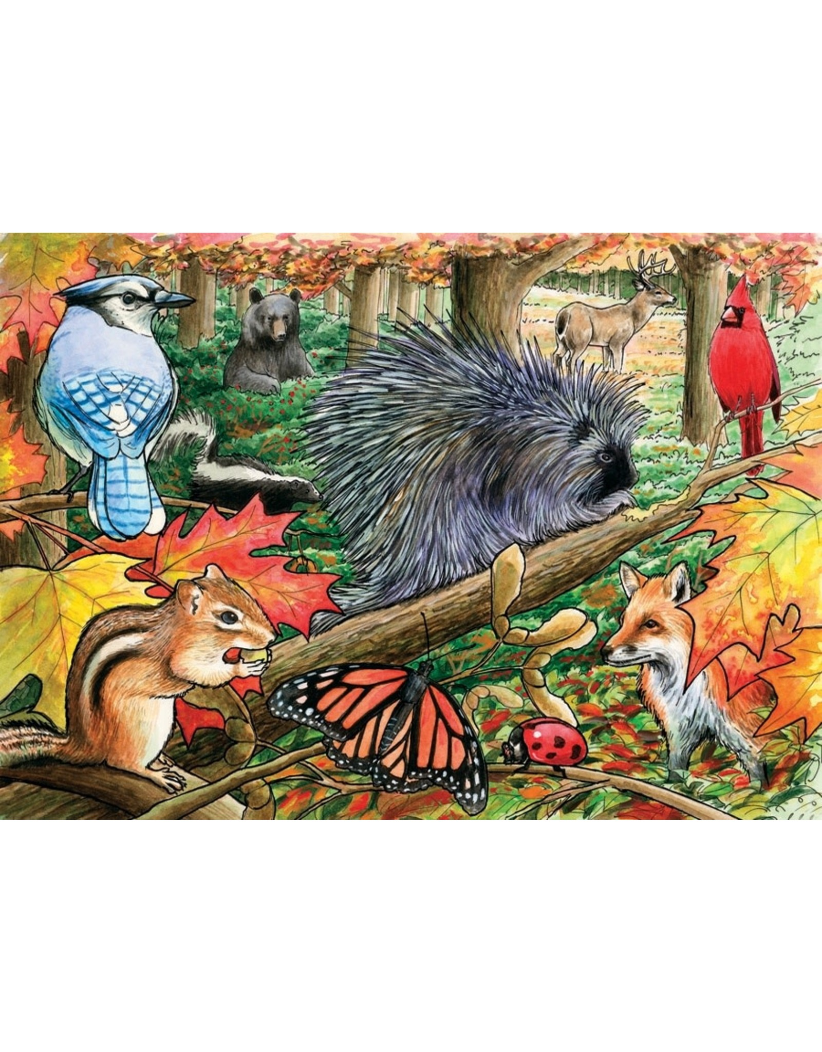 Cobble Hill Eastern Woodlands Tray Puzzle