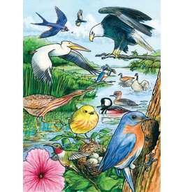 Cobble Hill North American Birds Tray Puzzle