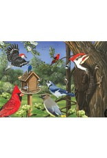 Cobble Hill Around the Birdfeeder Tray Puzzle