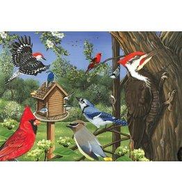 Cobble Hill Around the Birdfeeder Tray Puzzle