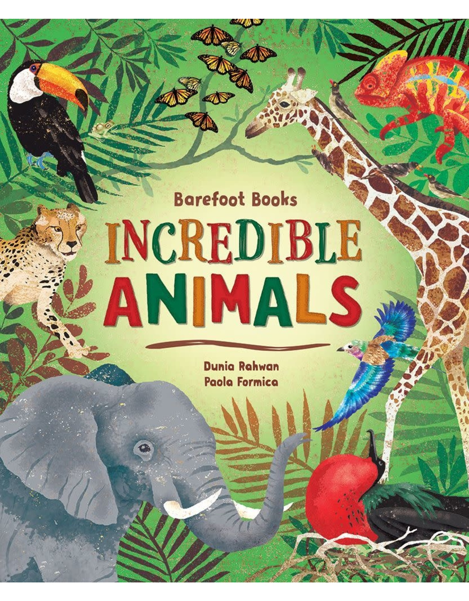 Barefoot Books Incredible Animals