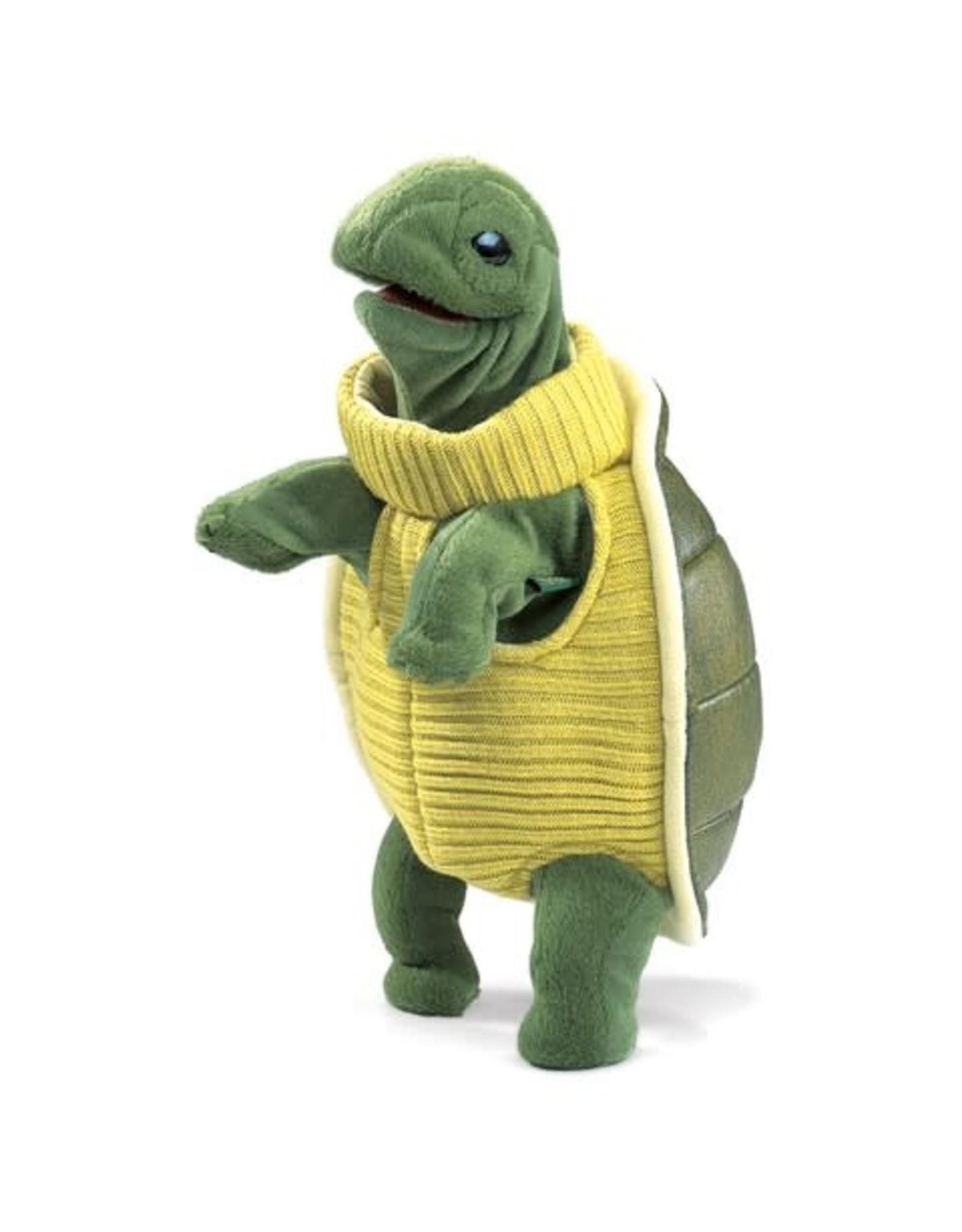 Folkmanis Folkmanis Turtleneck Turtle Puppet
