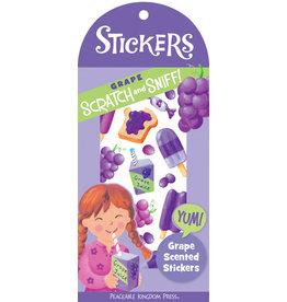 Peaceable Kingdom Grape Scratch & Sniff Stickers
