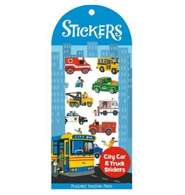 Peaceable Kingdom City Cars & Trucks Stickers