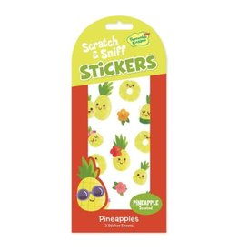 Peaceable Kingdom Pineapple Scratch & Sniff Stickers