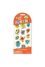 Peaceable Kingdom Googly Eye: Crazy Monsters Stickers