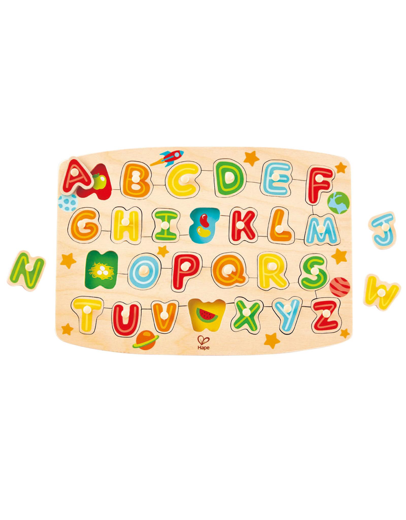 Hape Alphabet Peg Puzzle