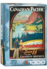 Eurographics Banff in the Canadian Rockies 1000pc
